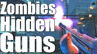 10 WEAPONS NEVER RELEASED IN ZOMBIES (Call of Duty: Black Ops 3 Zombies)