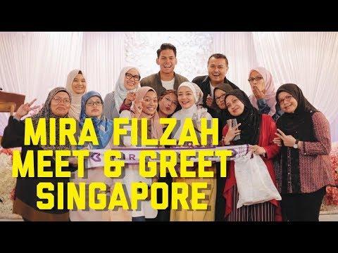 Mira Filzah at Meet And Greet Singapore