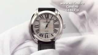 Обзор. Женские наручные швейцарские часы Candino C4463_3