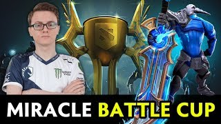 Miracle ultra rare Sven Immortal — Liquid on Battle Cup