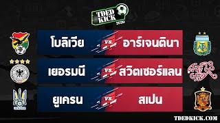 ทีเด็ดบอล วิเคราะห์บอล ประจำวันที่ 13 ตุลาคม 2563 โดยเว็บไซต์ TDEDKICK.COM