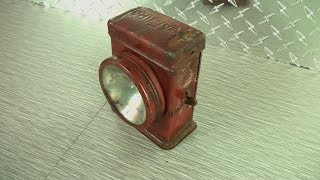 1930s Flashlight Restoration-Niagara Searchlight - Kipkay Restored