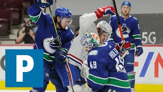 Brock Boeser and Braden Holtby on Vancouver Canucks 6-5 win over Montreal Canadiens   The Province