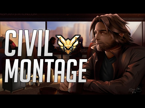 Civil Montage - How HARD is AIMING on CONSOLE?