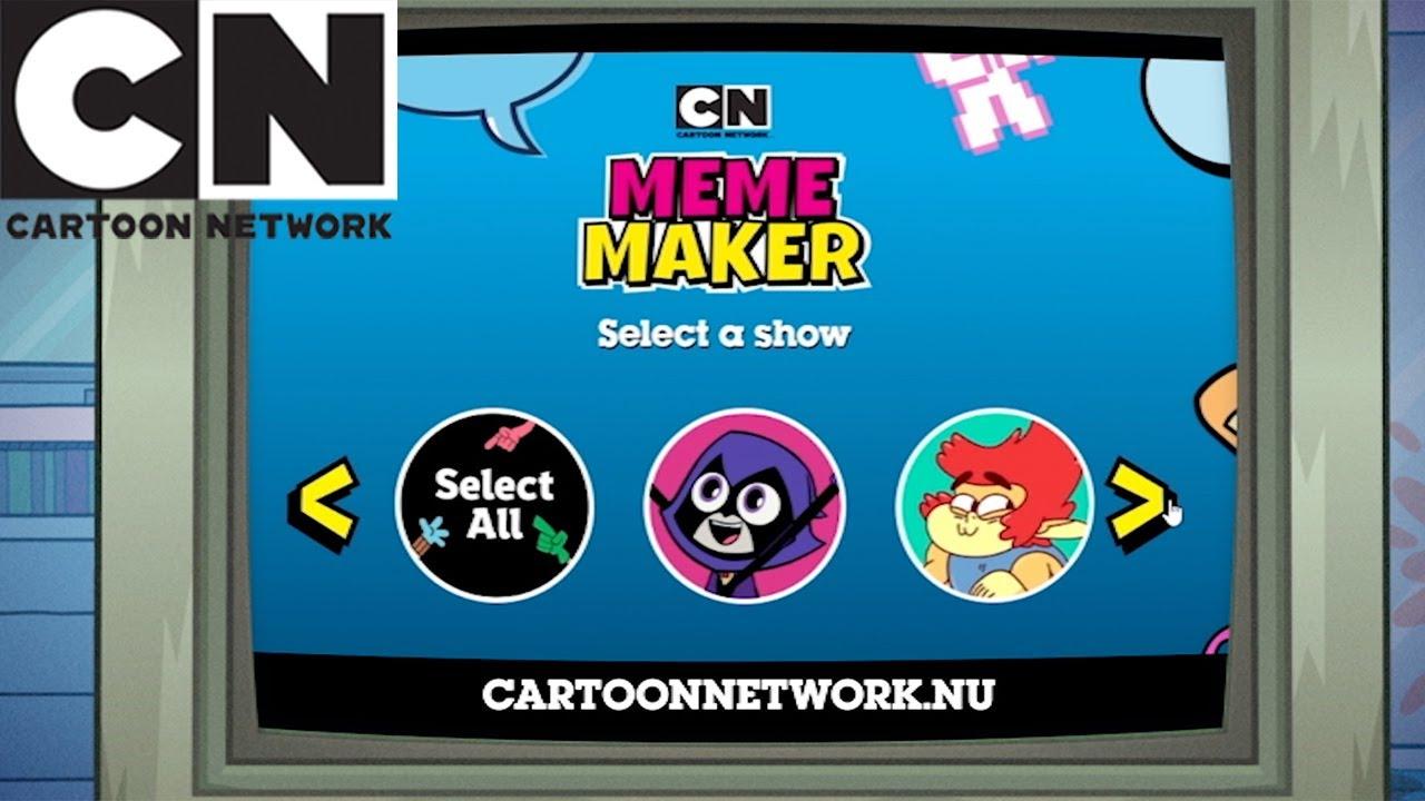 Spela Meme Maker! | 🇸🇪 Svenska Cartoon Network