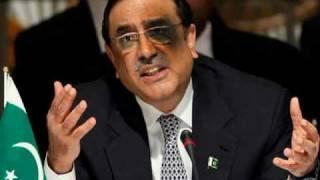 Shoe Attack on Asif Ali Zardari
