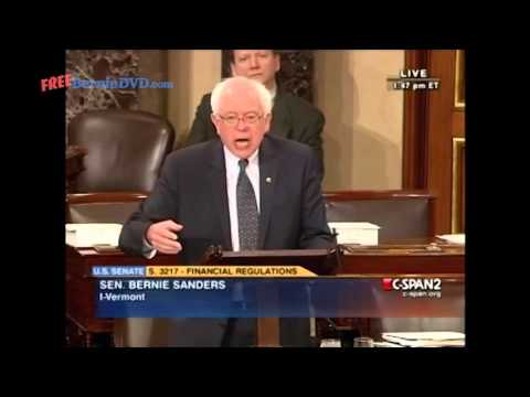 Bernie Sanders Calls to Audit the Federal Reserve - Unedited FULL