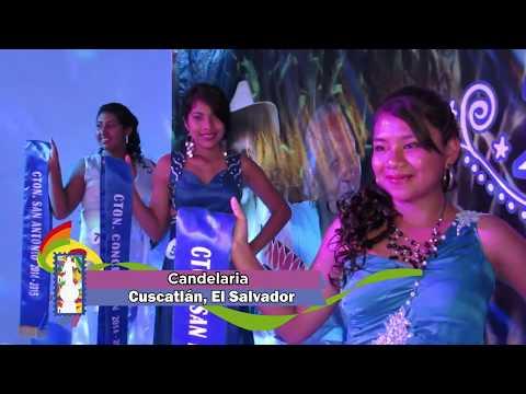 Fiestas patronales de Candelaria en El Salvador. Estampas Salvadoreñas