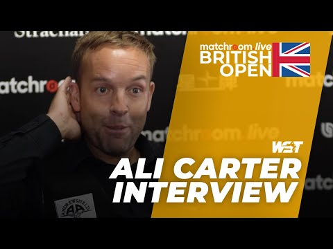 Carter Set For Selby In Round Two | Matchroom.Live British Open