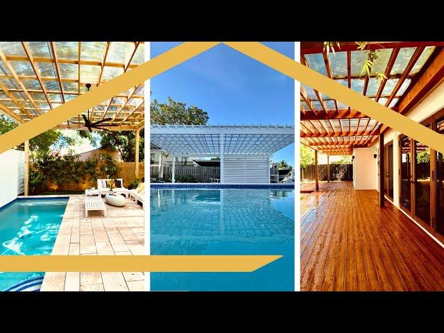 South Florida Pergola Covers at the Palm Beach Home Show