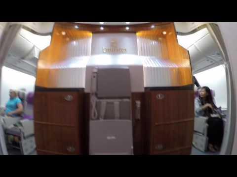 Emirates A380 Upper Deck Economy Class