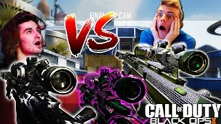 FANS HIT 8 CLIPS IN OUR GAMES! - RED NICKS VS. RED RANDUMB (BO2 CLIP RACE)