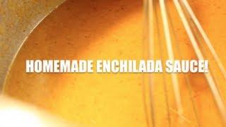 Homemade Enchilada Sauce Recipe & How-to!