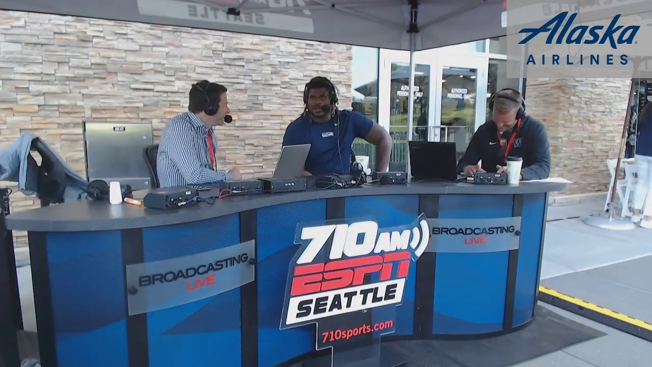 Seahawks' G D.J. Fluker joins Brock and Salk to talk training, Duane Brown, and Poona Ford