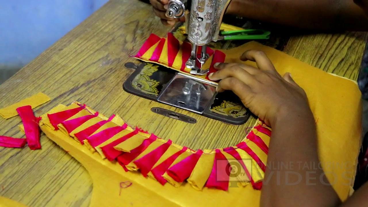 Model blouse cutting tamil video neck jackson