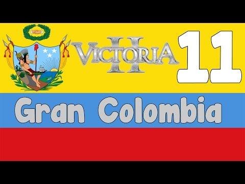 Victoria 2 HPM mod - Gran Colombia 11 - Final