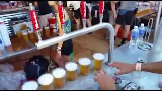 259 Kegs in Two Days! - Bottoms Up Pours at the Made In America Festival in LA