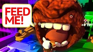 A HUNGRY MEATBALL - Overcooked
