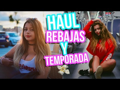 HAUL REBAJAS 2017 y NUEVA TEMPORADA | Rachel Tisdale