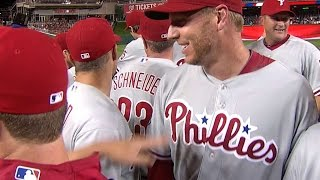 PHI@WSH: Phillies clinch NL East on Halladay's two-hit shutout