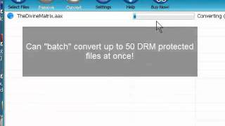 The AAC File Converter