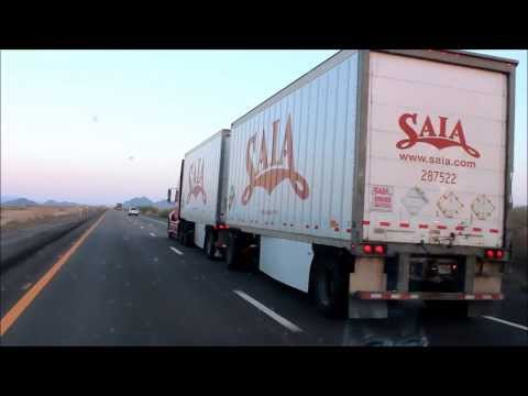 Saia LTL Freight International Truck Pulling Doubles