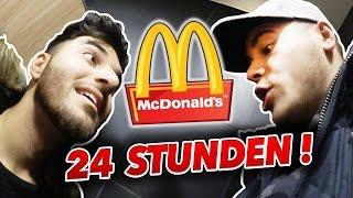 24 STUNDEN IM MC DONALDS EINSPERREN !!! (Eskalation)
