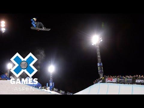 Scotty James wins Men's Snowboard SuperPipe silver   X Games Aspen 2018