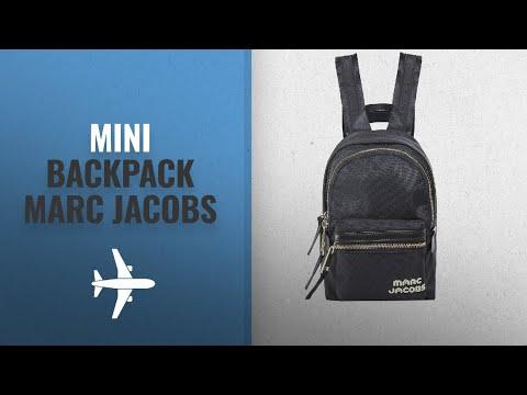 Our Favorite Mini Backpack Marc Jacobs [2018]: Marc Jacobs Women's Mini Trek Backpack One Size Black