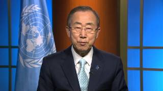 Ban Ki-moon, Secretary-General of the United Nations, addressing the 2014 Partners