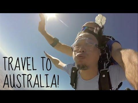 TRAVEL TO AUSTRALIA!