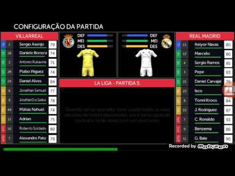 Liga espanhol Villarreal x real Madrid 4