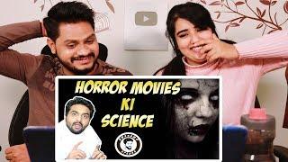 Indian Reaction On  HORROR MOVIES KI SCIENCE | AWESAMO SPEAKS