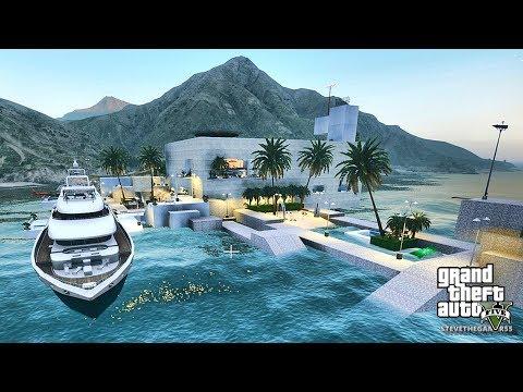 GTA 5 REAL LIFE MOD #416 PARADISE ISLAND!!! (GTA 5 REAL LIFE MODS)