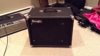 Mesa Boogie 1x12 Theile cabinet demo