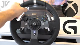 Logitech G920 - Steering Wheel for Xbox One - Unbox & Game Play
