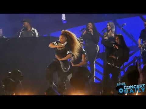 Janet Jackson & Q-Tip perform