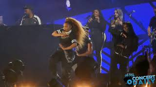 """Here's some fancam audience view footage of Janet Jackson performing """"Got 'Til It's Gone"""", when special guest Q-Tip came out to spit his rap during the song ..."""