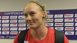Eliška Staňková po finále disku na ME 2018