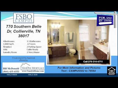 4 bedroom House for sale near Schilling Farms Middle School in Collierville TN
