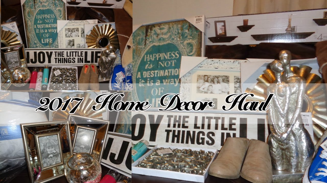 Beautiful 2017 Winter Home Decor Haul| TjMaxx, Marshalls U0026 The At Home Store   YouTube