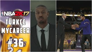 Türkçe NBA 2K17 MyCAREER #36 | PLAYOFF BAŞLASIN !!! EFSANE MVP KONUŞMASI !!