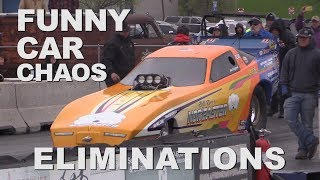 FUNNY CAR CHAOS - IT'S RACE DAY IN DENTON