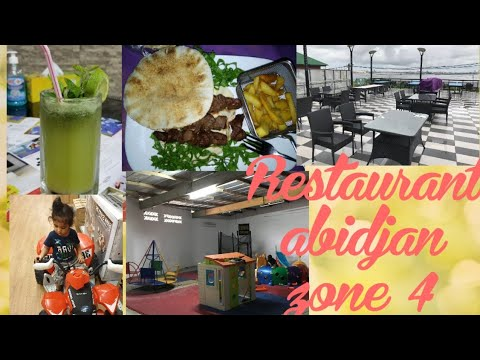 Lebanese Restaurant in abidjan(Africa) Food Ambience view baby play area view nehavlogs abidjan