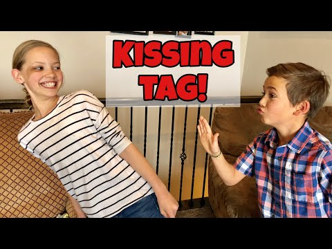 KISSING TAG  don't get kissed 💋💋