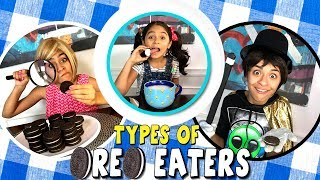 Types of Oreo Eaters - Funny Skit // GEM Sisters thumbnail
