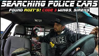 Searching Police Cars Found Roxys! Code 3 Wingman + Much More!