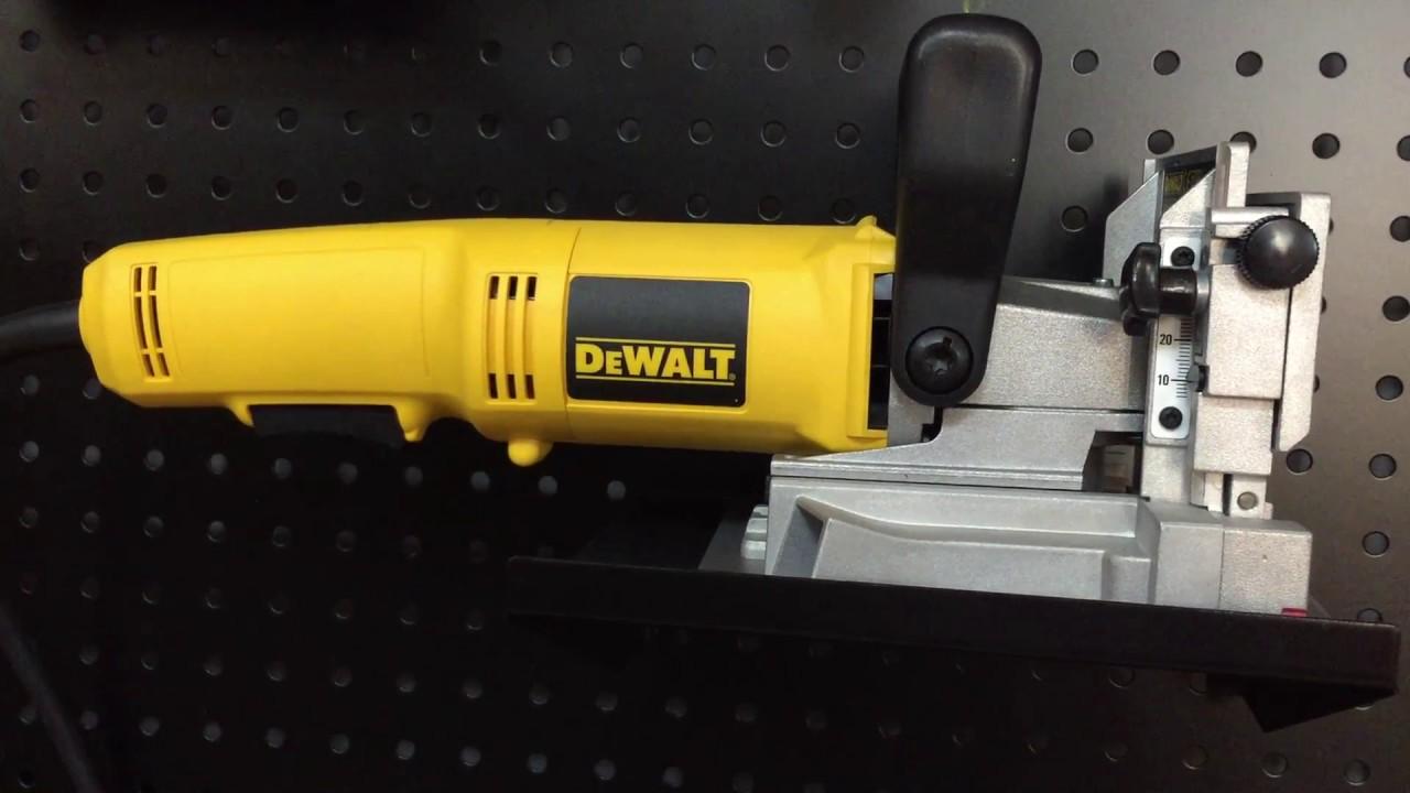 Gut gemocht DeWALT DW682 - Lamellendübelfräse DeWALT - Flachdübelfräse DeWALT IP36