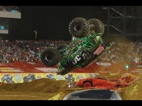 Download Best of Monster Truck - Grave Digger, Bigfoot, Maximum Destruction, Batman