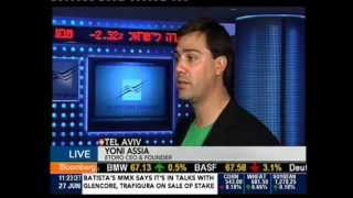 Yoni Assia On Bloomberg TV - 27.06.2013